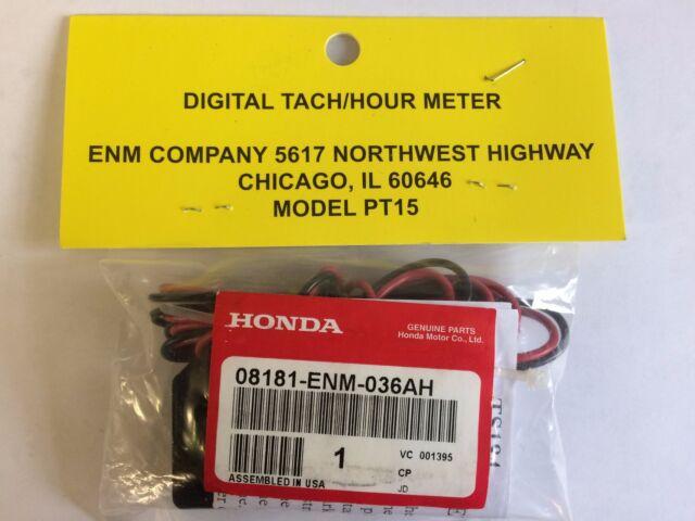 """08181-ENM-036AH HONDA USAGE METER ENM 36/"""" New OEM"""