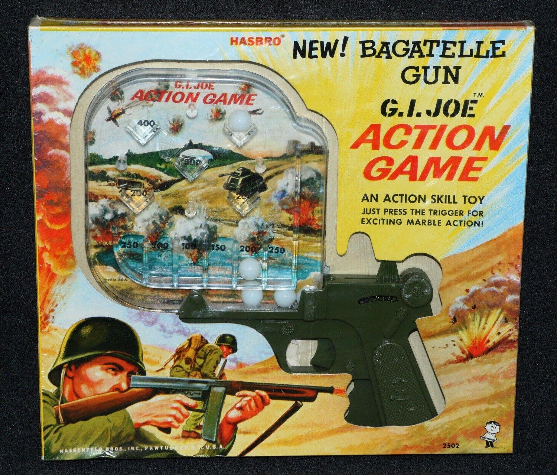 GI Joe 1964 1967;2502 MIB Pinbtutti borsaatelle azione gioco FACTORY Old Store Stock