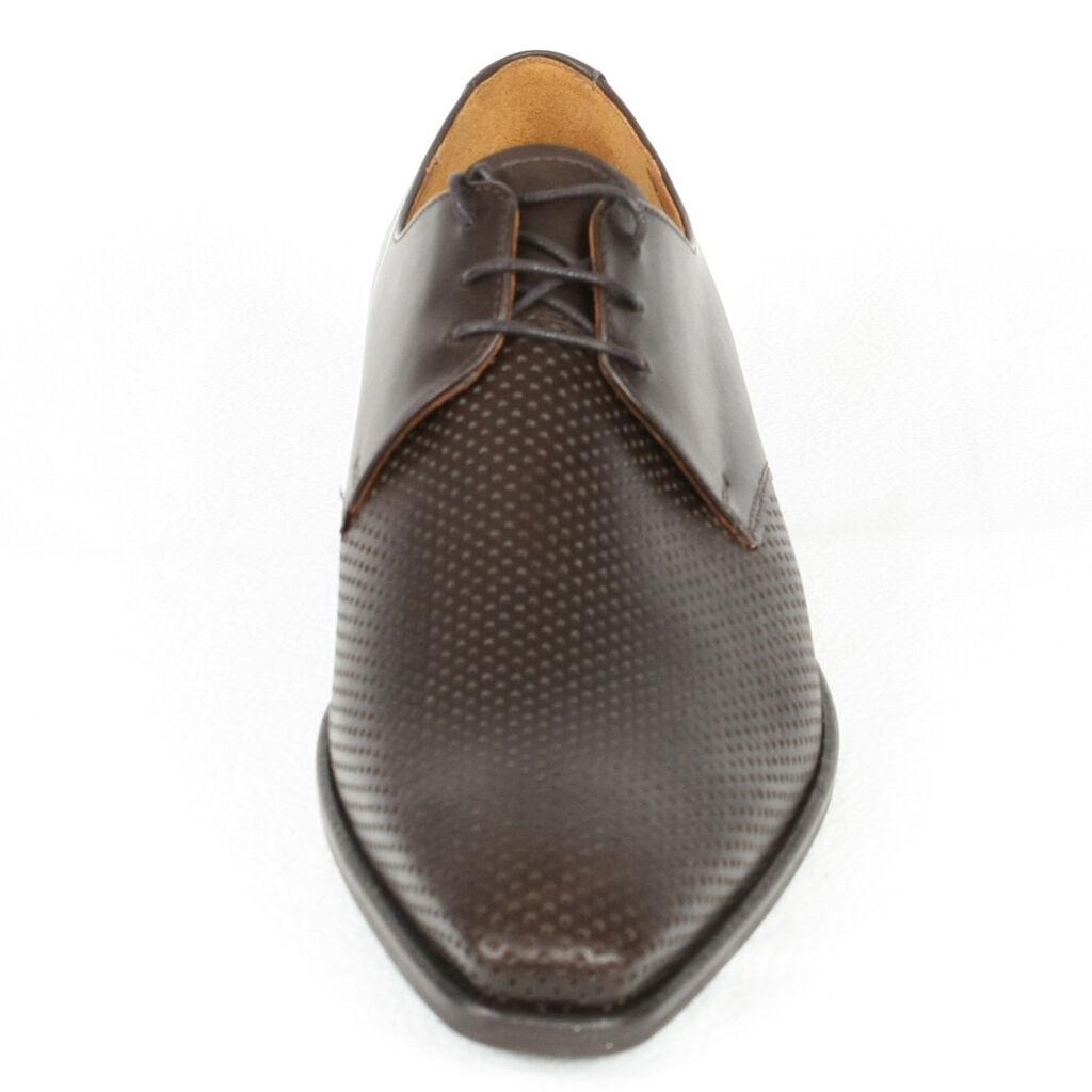 Herren Halb Schuhe Sommer 42 Elegant Braun Neu Leder 41 42 Sommer 44 5061c5