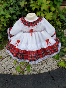 DREAM BABY TRADITIONAL ROMANY NETTED DRESS PANTS  0-3 years  OR REBORN DOLLS