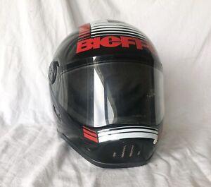 Vintage-Bieffe-Motocross-Full-Face-Helmet-Made-In-Italy-BIEFFE-BF5