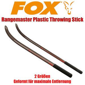 Fox Rangemaster Plastic Throwing Stick Wurfrohr Boilierohr Boiliewurfrohr