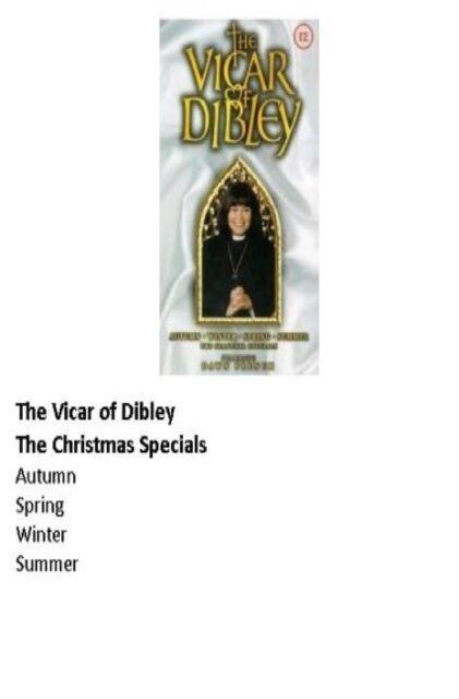 Vicar of Dibley Seasonal Specials DVD Autumn Winter Summer Spring Newng New UK