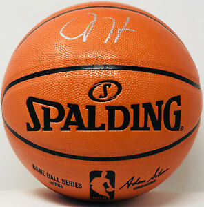 8172671b4c6 Image is loading James-Harden-Autographed-NBA-Basketball-Signed-BAS-Beckett-