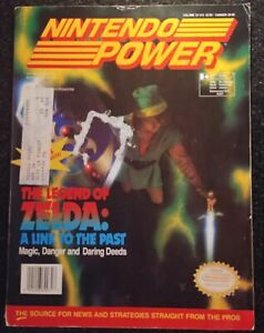 Nintendo-Power-Magazine-Volume-34-The-Legend-of-Zelda-A-Link-to-the-Past-Rare