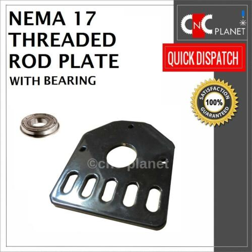 Bearing Nema 17 Stepper Threaded Rod mount Plate bracket V-slot CNC 3D Printer
