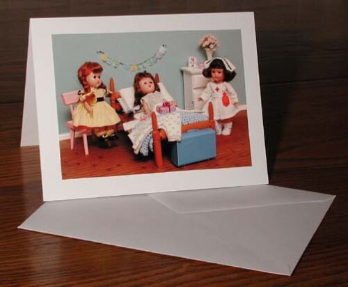 Vintage Ginny Doll /'Fairy Tales /& More/'/' Greeting Cards