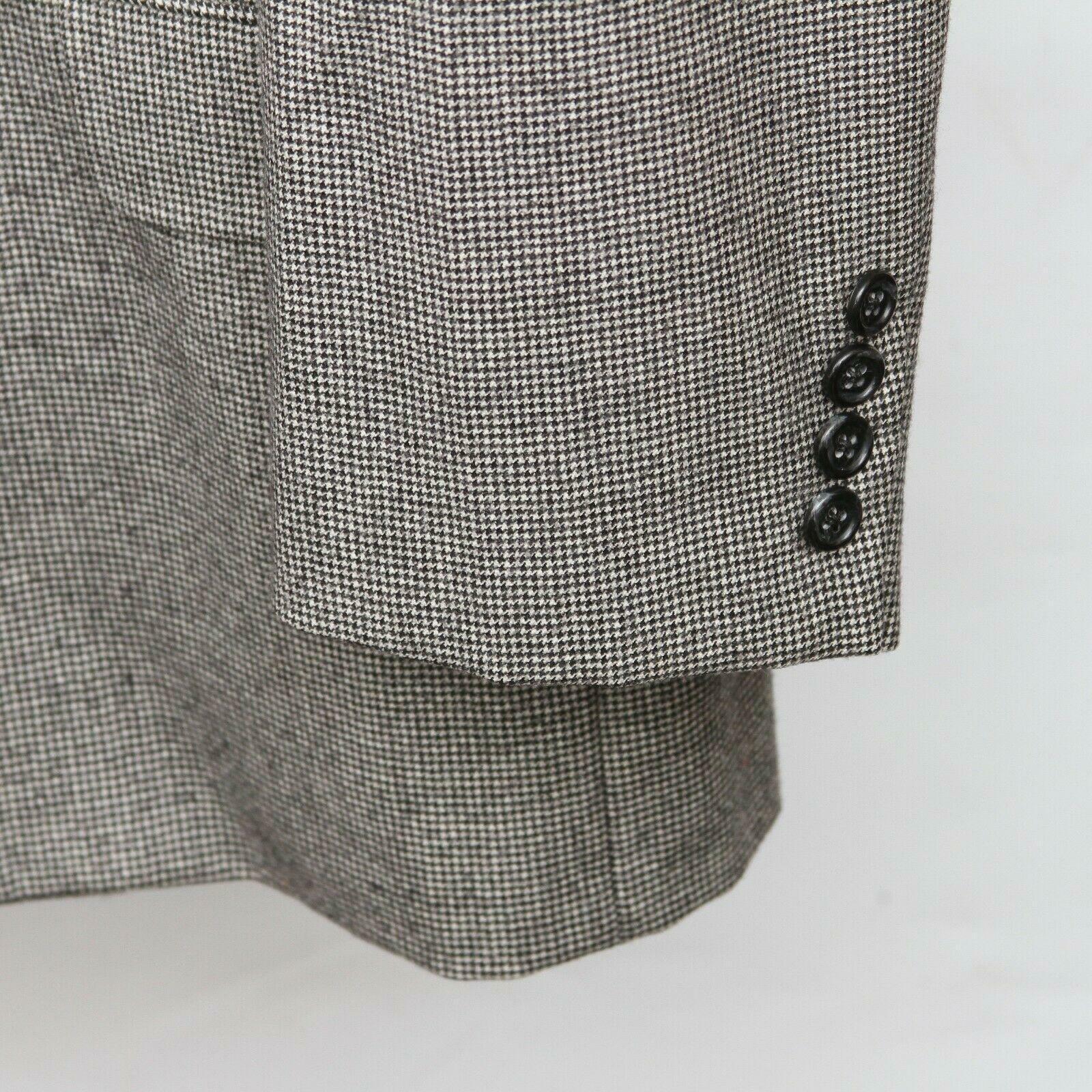 Hickey Freeman Paul Simon Gray White Black Wool H… - image 10