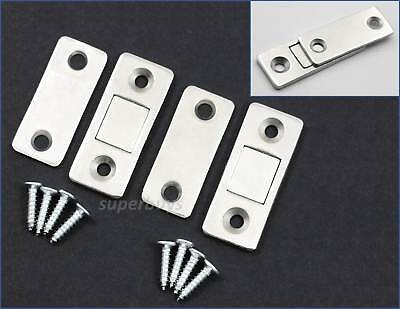 8 Pack 40mm Magnetic Cupboard Catches Latch with Screws