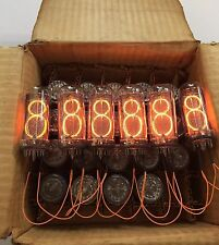 MATCHED SET 6x IN18 IN-18 ИН-18 NIXIE TUBES NOS NEW | Divergence Meter | Clock