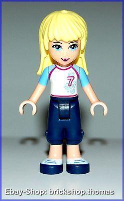 Lego Friends Figur Minifig frnd036 Stephanie Fußball Trikot NEU // NEW