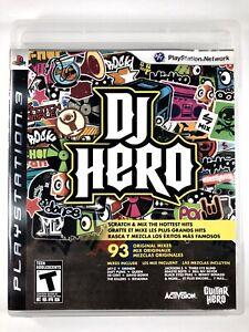 DJ Hero PS3 CIB Sony PlayStation 3 Game COMPLETE w/ Manual Very Good Ships Free✨