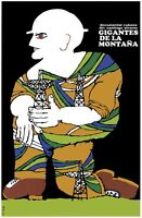8567.gigantes De La Montaña.cuban Documentary.poster.movie Decor Graphic Art