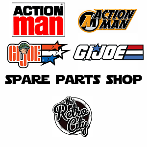 Vtg-12-034-GI-Joe-Action-Man-Figure-Spare-Parts-Accessories-Weapons-80s-90s-00s