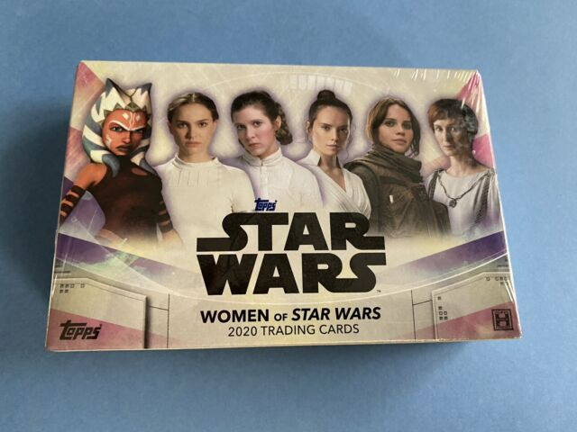 WOMEN OF STAR WARS 2020 Topps Hobby Box - New & Sealed - 1 AUTO Per Box