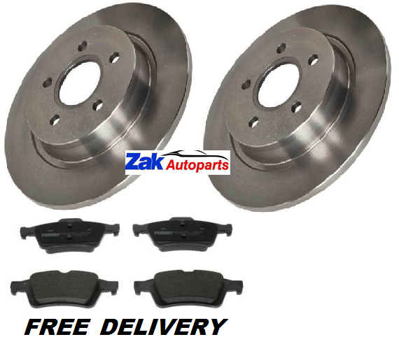 FORD FOCUS 2.5 ST 2005-2011 MINTEX FRONT REAR BRAKE PADS