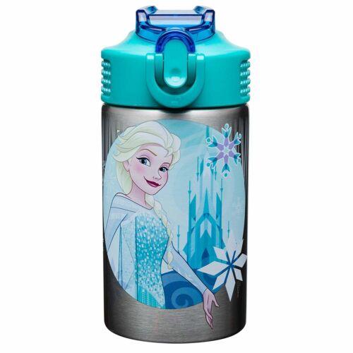 Kids Water Bottle Stainless Steel Frozen Anna Elsa Girl School Travel Gift New
