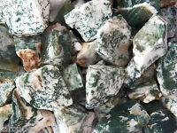1 Lb Tree Agate Rough Rock For Tumbling Tumbler Stones Peace & Center