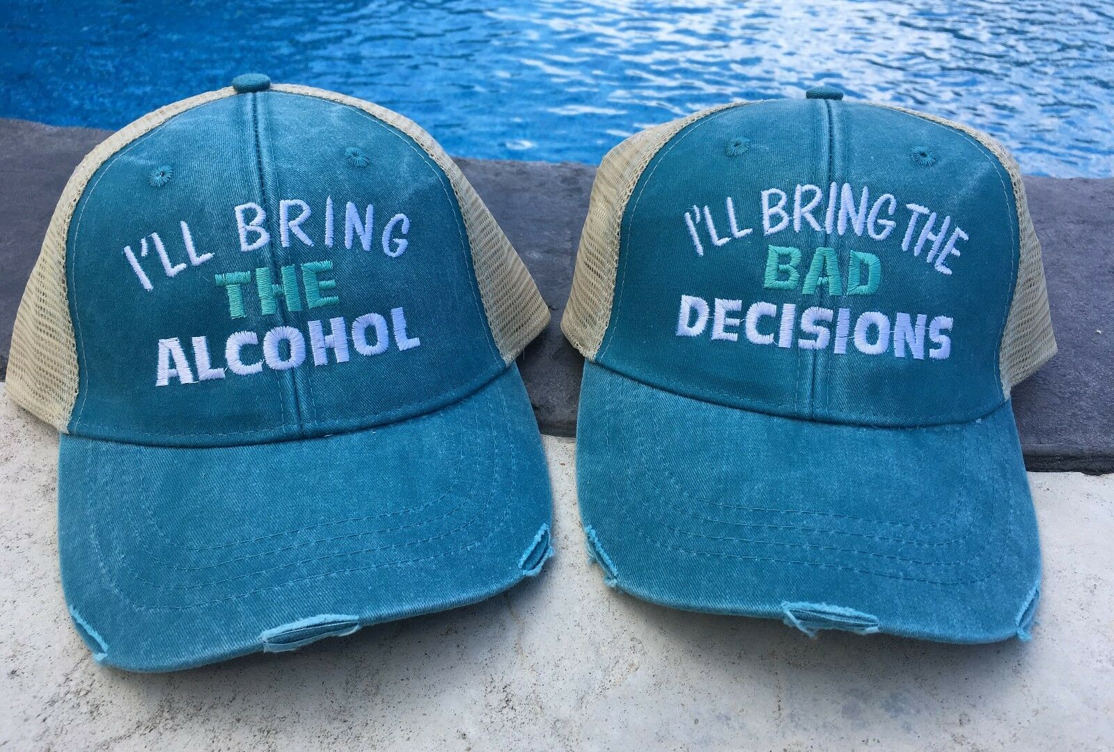 Trucker Hat I'll I'll bring the alcohol I'll Hat bring the bad decisions f14c3c