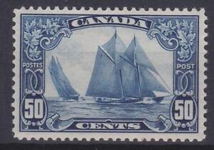 Canada-1929-158-King-George-V-034-Scroll-034-Issue-Bluenose-VF-MH