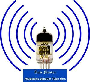 Details about MESA BOOGIE Tigris Audio Amp ULTIMO Tube Set Gold Pin Preamp  6V6 EL84