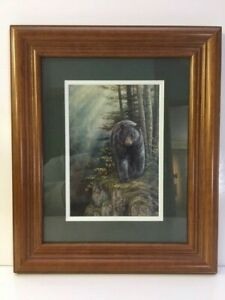 Bear Stained Glass Art by Rosemary Millette Rocky Outcrop