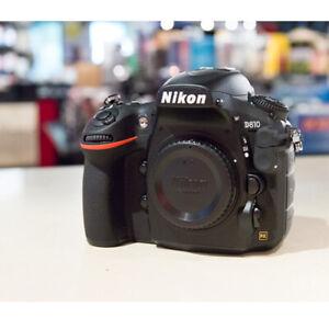 Nikon D810 36.3mp Full Frame DSLR Camera Body (Multi) stock from EU migliore