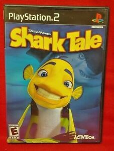 Shark Tale Dream Works  PS2 Playstation 2 COMPLETE Game 1 Owner Mint Disc