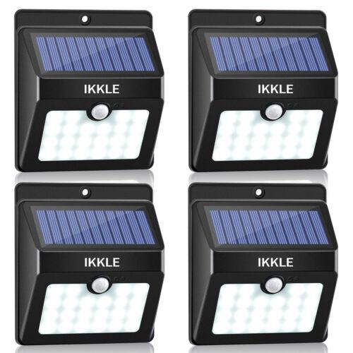 4x Motion Sensor Power Solar Panel Light LED Street Lamp Outdoor Garden SU850