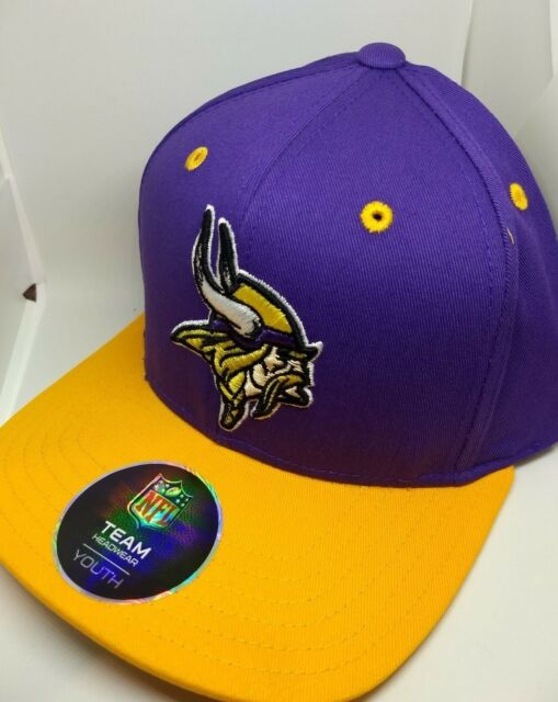 bda70363 Minnesota Vikings NLF Snapback Cap Youth Hat 100 Authentic NFL Product