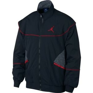 8ef7fc3026dbb0 NIKE AIR JORDAN 3 AJ3 VAULT WOVEN JACKET 897410 010 BLACK (MEN S ...