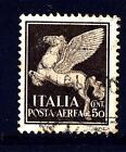 ITALIA - Regno - PA - 1930 - Soggetti allegorici - Pegaso. 50 c