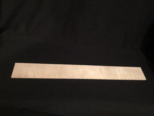 Flamed Curly Maple Fretboard Blank    PENTA GUITARWORKS