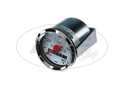 Tachometer Ø48mm bis 80 km/h - für Simson KR51 Schwalbe, SR4-1 Spatz, SR4-2 Star