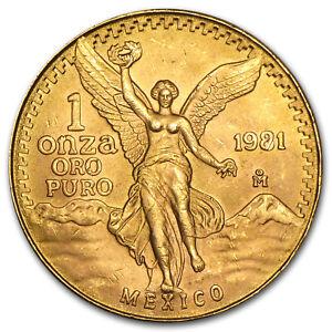 Mexico-1-oz-Gold-Onza-amp-or-Libertad-BU-Random-Year-SKU-25504