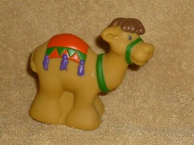 Fisher-Price Little People CHRISTMAS NATIVITY CAMEL Blue SADDLE for WISEMAN