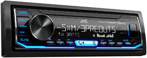 JVC KD-X350BTS Single DIN SiriusXM Ready Bluetooth In-Dash Car Stereo Receiver
