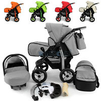 Big Sale Baby Pram Stroller + Car Seat Pushchair Buggy Poussette Travel System