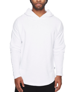 Drop Kamden Shoulder Midweight 3770 M Knit Publish Sz Hoodie White Mens OZXwkNn80P