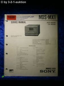 Sony-Service-Manual-MDS-MX1-1020