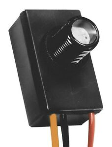12 Volt Button Style Dusk To Dawn Photocell Sensor Light