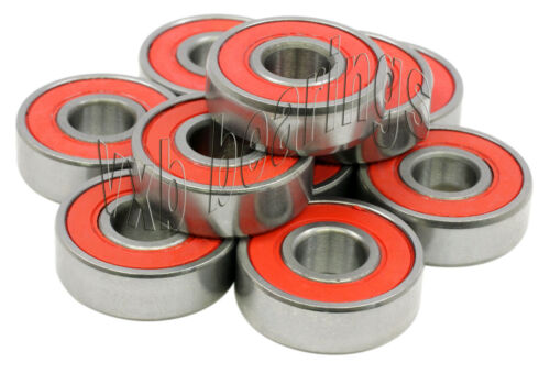 "SR1212-2RS Stainless Steel Sealed Ball Bearing 1//2/""x 3//4/""x 5//32/"" inch Pack 10"