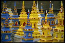 584050 Spirit Houses Laos A4 Photo Print