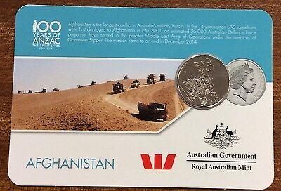 2016 Westpac RAM 20 cent coin rats of Tobruk