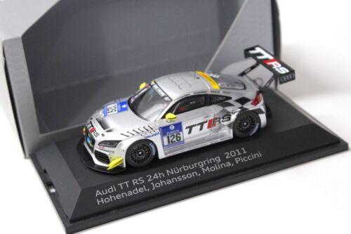 1:43 Spark Audi TT RS 24h nurburgring 2011 #126 traficantes New en Premium-modelcars