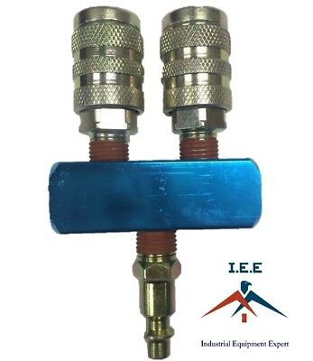 WL024502AV MANIFOLD ASSEMBLY W// COUPLERS AND GAUGES