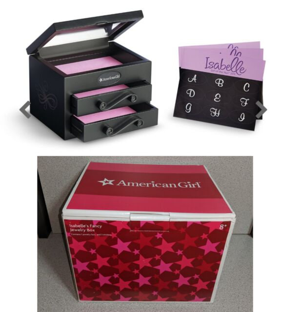 American Girl Of The Year Isabelle Isabelle's Fancy Jewelry Box NIB New In Box