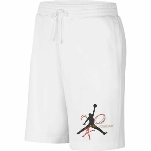 Nike Jordan Legacy Fiba Shorts White Black Red M-4XL