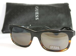Genuine GUESS GU6760-5797B Men/'s Square Sunglasses Gradient Lens DARK GRAY NEW!