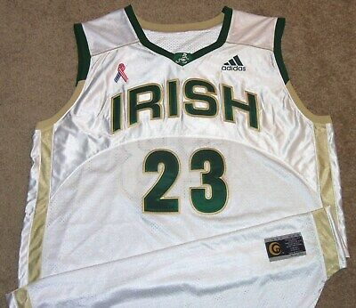 new concept c82d5 4e7a1 VTG AUTHENTIC LEBRON JAMES ST.VINCENT ST.MARY IRISH ONSPORTS H.S JERSEY XXL  SEWN | eBay